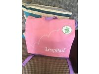 LeapPad learning system & books