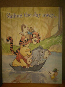 Winne The Pooh Canvas Picture