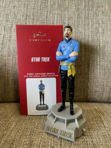 2021 Hallmark FIRST OFFICER SPOCK Star Trek Storytellers Ornament *NIB*
