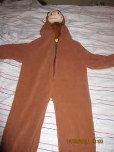 Curious George Costume - size small