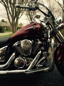 Kawasaki Vulcan 2009 top shape full chrome