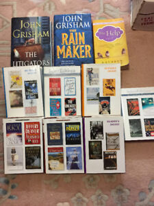 Hard and soft cover books
