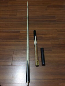 Brand new Jianying 3/4 snooker cue with case tip