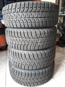 Winter tires Bridgestone - Blizzak WS80 225/55R17 on rims