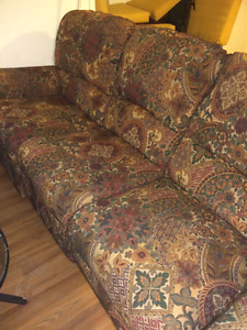 Free double recliner couch! Moving. Must be picked up.