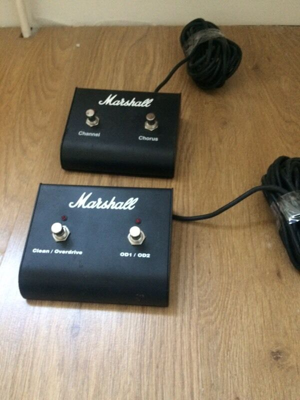 Marshall Two Way Foot Switch X In Taunton Somerset Gumtree - Two way footswitch