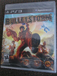 PS3 Game - B_lletstorm - NEW, Sealed