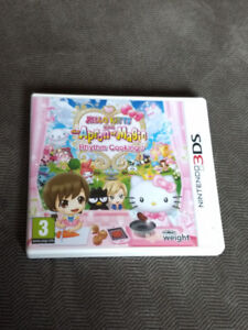 Hello Kitty Apron of Magic 3DS game (UK edition) *PLEASE READ*