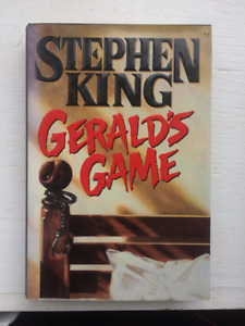 Stephen King !st Edition Book Geralds Game