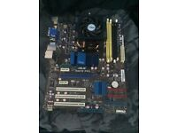 ASUS M4A78 PRO motherboard.