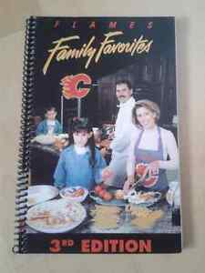 Calgary Flames Family Favorites Recipe Cook Book