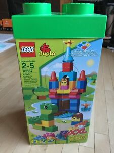 LEGO DUPLO Giant Tower XXL 200 Pieces 10557 for age 2-5