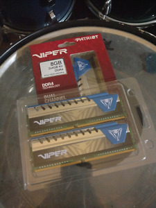 *NEW PRICE* Viper Elite 4X4 DDR4 2400 ram NEVER USED