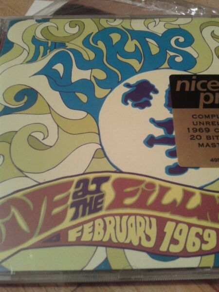 The Byrds – Live at the Fillmore February 1969, cd