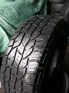 LIKE NEW Lt265/75/r16 cooper all terrain tires