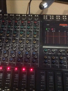 Console-Mixer fostex 450 8 in/out