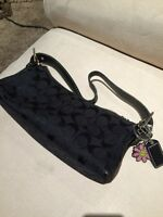 Authentic Coach signature black purse