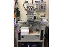BAS 416A Embroidery Machine