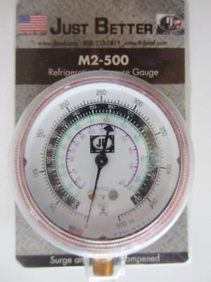 Just Better M2-500 Refrigeration Pressure Gauge JB (Qty Available)