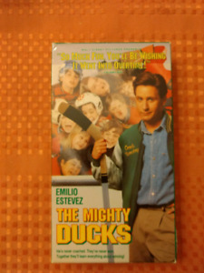 VHS The Mighty Ducks