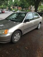 HONDA CIVIC 2002 **NEGOTIABLE**