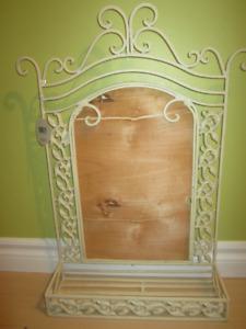 NEW Roth Iron wall decorative shelf