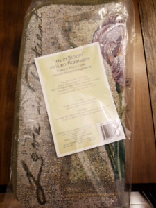 Tapestry Pillow Cover - Iris in Bloom