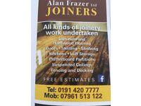 Joinery/laminate flooring