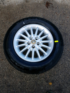 New Chrysler Rim and Tire