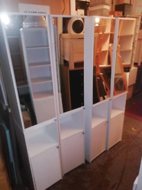 Tallboy Storage units with Mirror only £50 each. Real Bargains Clearan