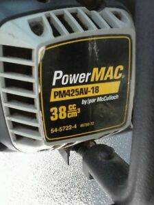 McCulluch PowerMAC CHAINSAW
