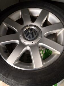 Vw rim and tires