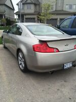 Infiniti g35 coupe low kms