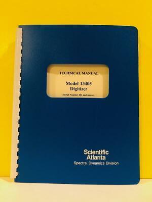 Spectral Dynamics 21998800 Model 13405 Digitizer Technical Manual