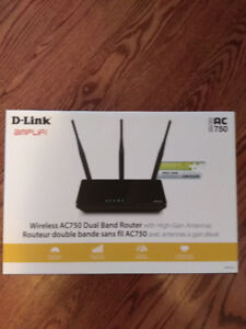 NEW Dual Band Router D-Link