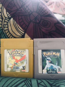 Pokémon gold and silver like new