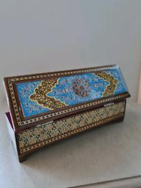 Handmade jewellery / pen box