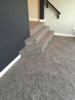Carpet Installation with Supply and Underpad at $2.29 per Sq ft.
