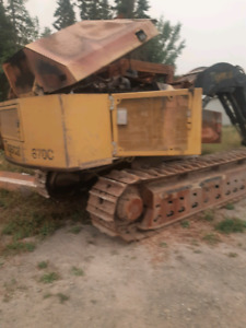 Parting out Tigercat 870C