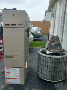 2005 Model Furnace, Central Air Condition and Acoil for sale