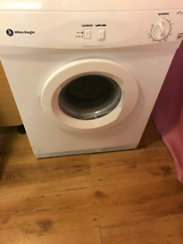 White Knight tumble dryer 6kg vented.