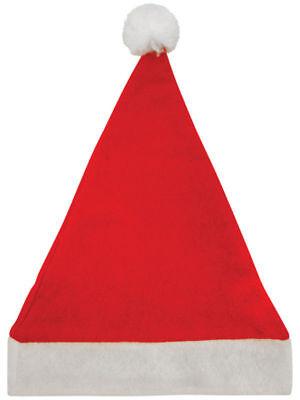 Massenkauf Weihnachten Santa Hüte Weihnachtsparty Weihnachtsmann Rot Großverkauf ()