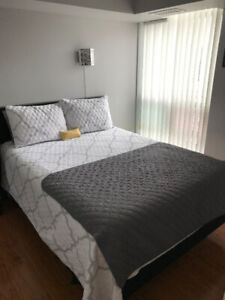 Queen Bed and Mattress for sale
