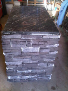 Movable STONEWORK/GRANITE Entertaining BBQ Table