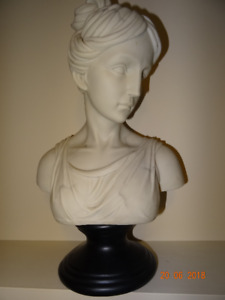 Hand Made Hand Painted Bust