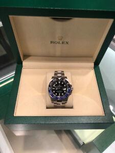 Rolex GMT-Master ll Batman Edition 40mm, Black Dial