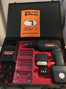 WALTER METABO COMBI CORDLESS DRILL