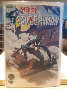 Web of Spider-man lot de comics