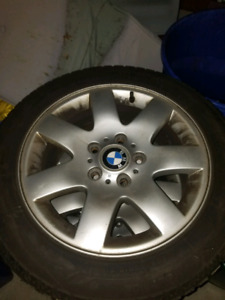 Winter tires. Bmw rims came off a 2012 Mini Countryman
