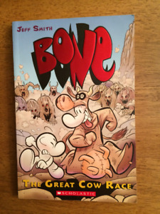 Bone The Great Cow Race Book